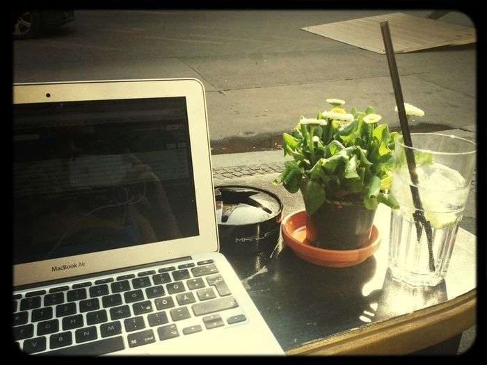 Found A Nice Place For My Afternoon Work Shift