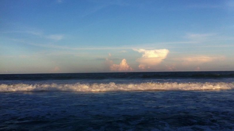 Beachphotography Sky And Clouds Ocean View Waves, Ocean, Nature HtcPhoneOgraphy Relaxing Enjoying Life Chennai Diaries A.J