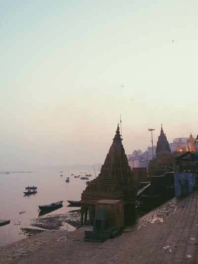 Varanasi Temple Ganga River River India