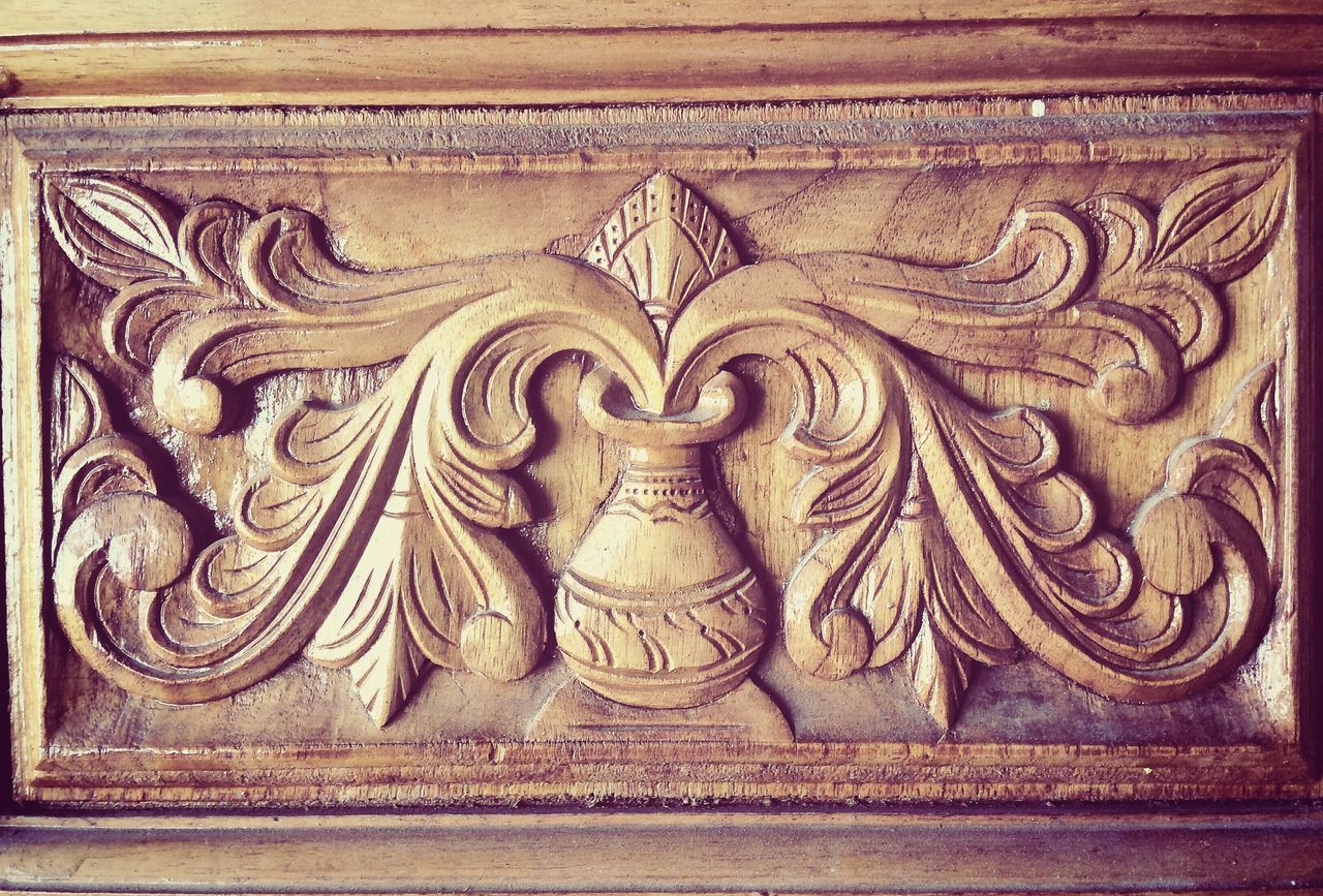 bas relief, no people, close-up, day, outdoors