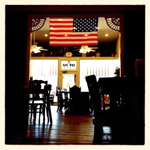 Breakfast! Hipstamatic Flag