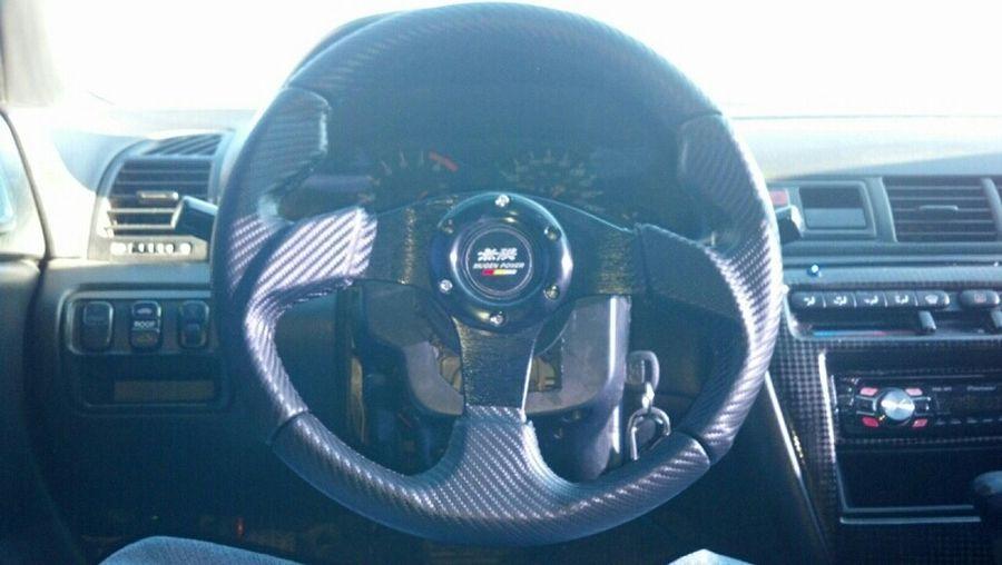 My New Mugen Steering Wheel
