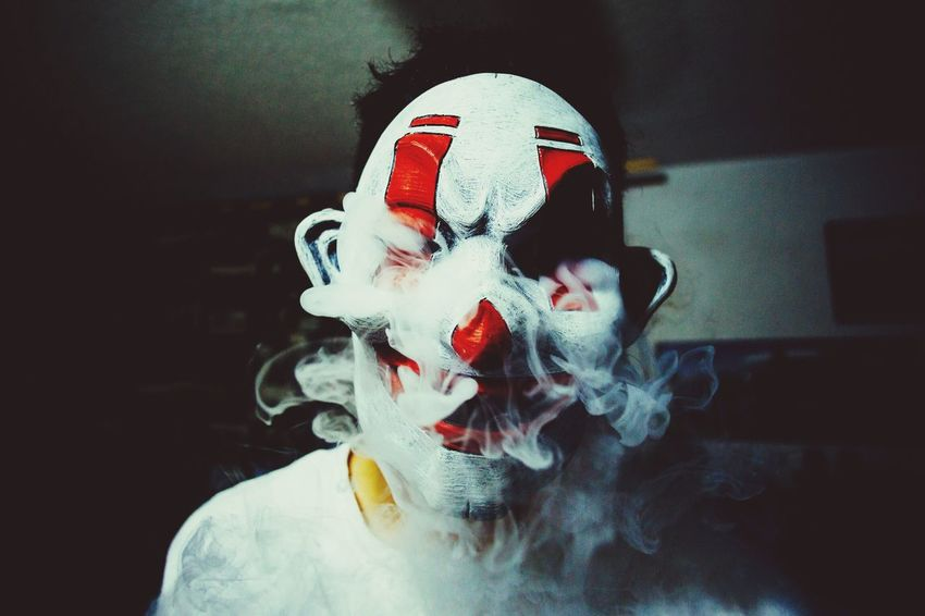 Masked and smoked Cdmx Mexico Mask Mexico