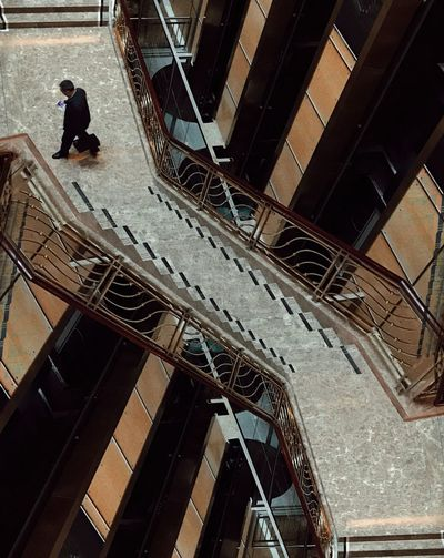 Architecture Staircase Built Structure Steps And Staircases Steps One Person Adult Building Exterior One Man Only Full Length People Men Adults Only Indoors  Only Men Spiral Staircase Day Fresh On Market 2017