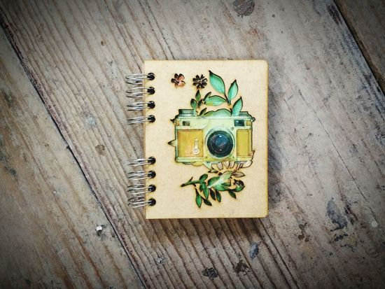 Watercolor Watercolor Painting Watercolor Effect Camera Illustration Lasercut Notebook Bulletjournal Custom Notebook