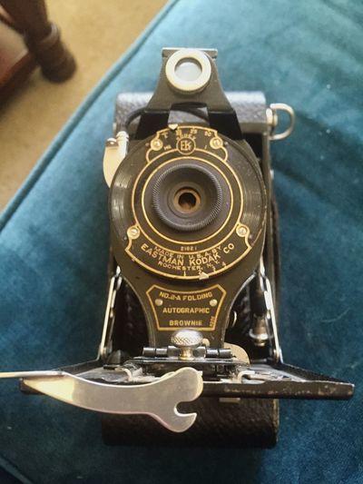 Old school. Camera