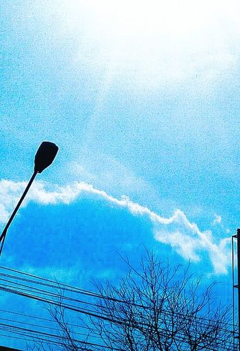 Blue Sky Taking