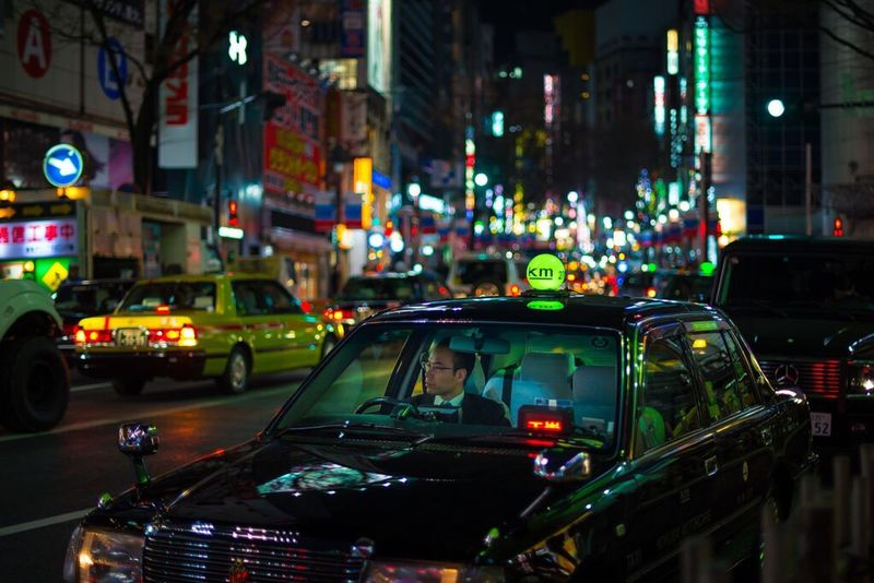 Taxi Driver, Shibuya 2016. Cities At Night Tokyo Japan Streetphotography Street Nightphotography Night EyeEm Best Shots Nikon Life Colours Taxi Driver Battle Of The Cities