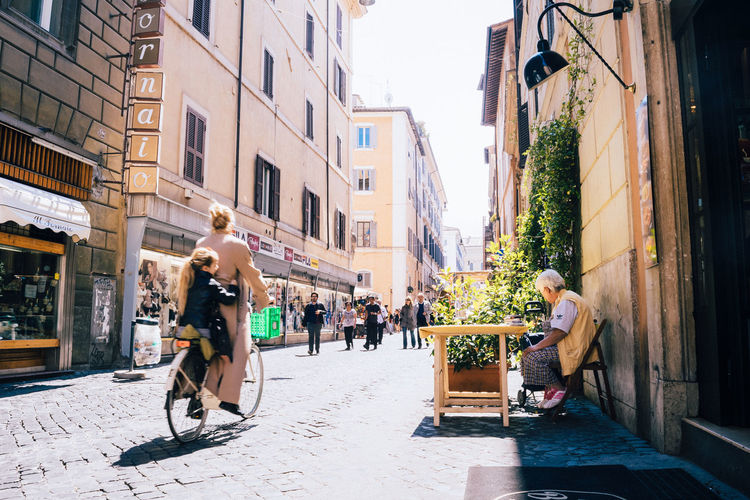 Architecture Built Structure City City City Life Cycling Day EyeEm Best Shots Italy Landscape Lifestyles Outdoors People Perspecitve Residential Building Riding Bike Street Street Photography Streetphotography Urban Urban Lifestyle Urbanphotography VSCO