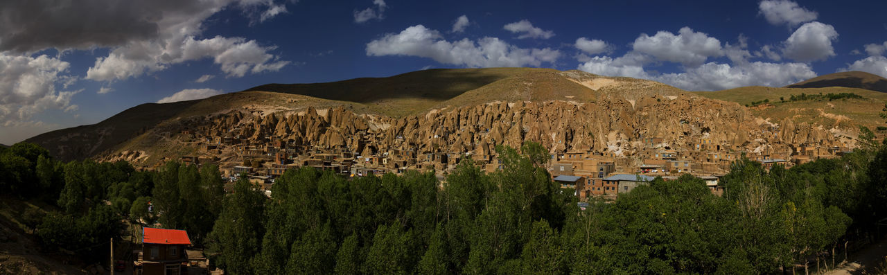 Iran,East Azarbayejan, North West of Iran.Kandovan Village, a Rocky Architectural where exemplifies manmade cliff dwellings which are still inhabited. Beautiful Nature Panoramic Views Panoramic View Panoramic Panorama Oddity Iranian Architecture Mountain And Sky Canon20d Village Photography Village View Panoramic Landscape Panoramic Photography Tourist Destination Tourist Attraction  Kandovan East Azarbayejan Iran East Azarbayejan Province Kandovan East Azarbayjan Iran Architecture Manmade Manmade Structure Rocky Village North West Of Iran