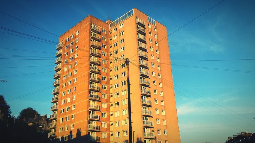 Untold Stories of the high rise flats in my home town of Sowerby Bridge. Don't believe everything you hear or see! Happyvalleysowerbybridge Tales Fiction Town Life Highrise Urban Landscape Longshadows Twilight