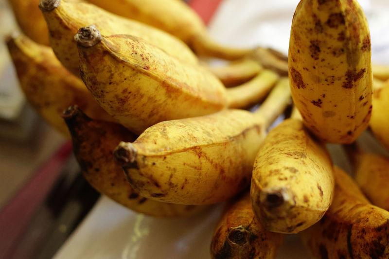 Banana Bananas Close-up Food Food And Drink Freshness Fruit Healthy Eating High Angle View Thai Fruits Vegetable