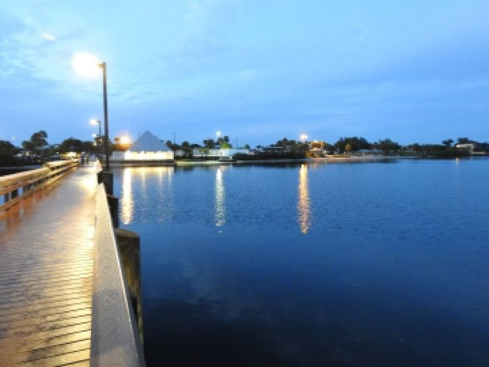 boardwalk Water