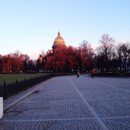 Autumn Evening City