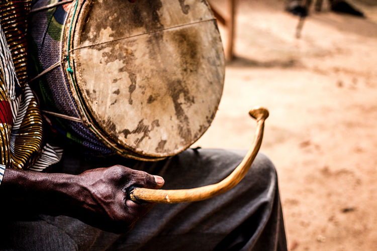 "Ceremony ""Wuru"" (iron deity) - Village of Gorobani in the East of Parakou 