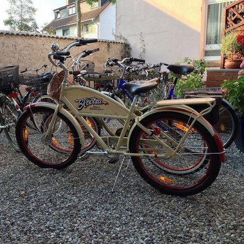 Electra Bike Biergarten Fahrrad Sommer