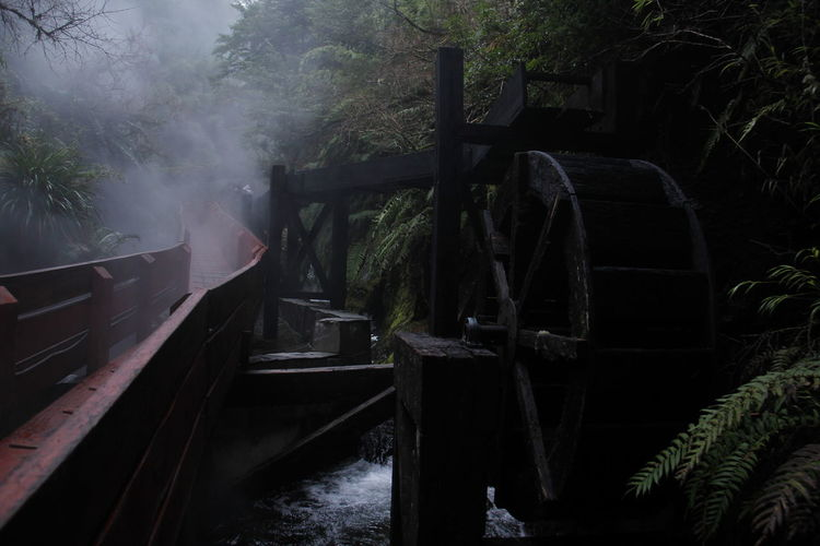 Old Chile♥ Day EE.UU Experience Fog Foggy Freelance Life Journey Mode Of Transport Nature Old Outdoor Photography Outdoors Passenger Craft Path Public Transportation Rail Transportation Railroad Track Termas Tranquility Transportation Travel Trekking