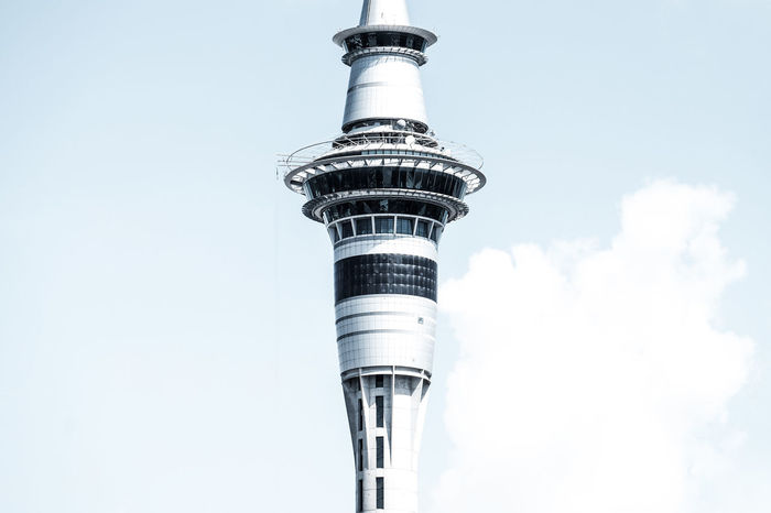 Architecture Architecture Lovers Auckland Auckland City Backpacking Chrome Eye4photography  EyeEm Best Shots EyeEm Masterclass FUJIFILM X-T1 Lookingup New Zealand Platform Seightseeing Sight Sky And Clouds Sky Tower Sky Tower Auckland SkyTower Skytower, Auckland. NZ. The Architect - 2016 EyeEm Awards Tower Travel Photography Traveling Urban Skyline