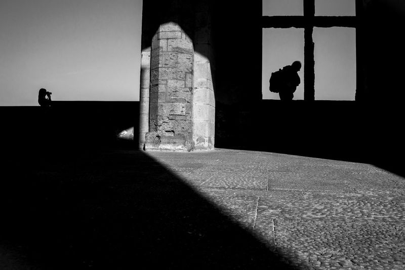 The Week On EyeEm Outdoors Castel Dell'ovo Napoli Castle Shiluette Architecture The Week On EyeEm Napoliphotoproject