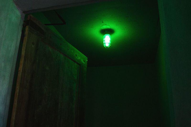 Kryptonite color Illuminated No People Low Angle View Green Color Nikon Neon Life Pintoartmuseum