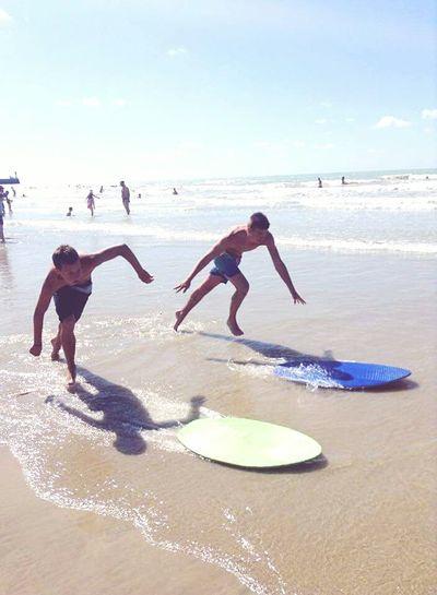 Picture Photography Plage Playa Mer Sable Skimboard Skim My Boyfriend ❤ My Friend