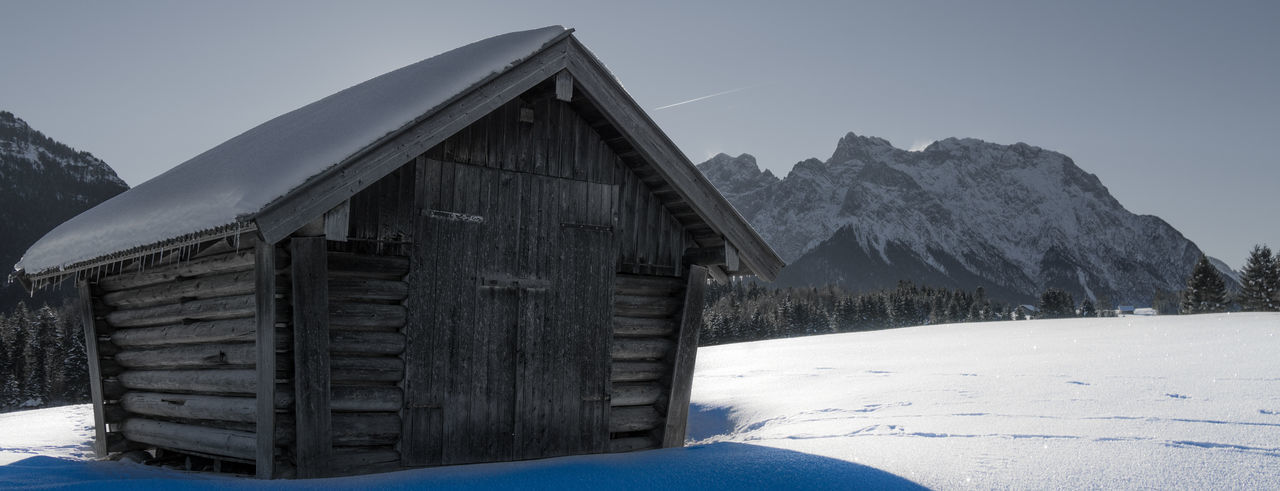 Betterlandscapes Bavarian Winter Karwendel Städel Winter Cold Temperature Snow EyEmNewHere Snowcapped Mountain Landscape