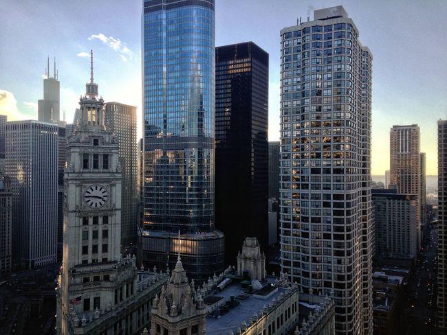 Wrigleybuilding Trump Tower Kemper Chicago Architecture Skyscrapers AMPt_community Urban Geometry Great Views EyeEm Bestsellers