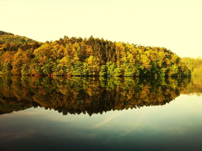 Lake Sky Trees