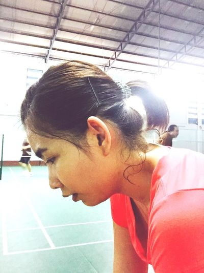 Sport Girl 😄😄 Badminton Lover Lovers Sports Photography That's Me Life Just Smile  Happiness Life In Motion Badminton