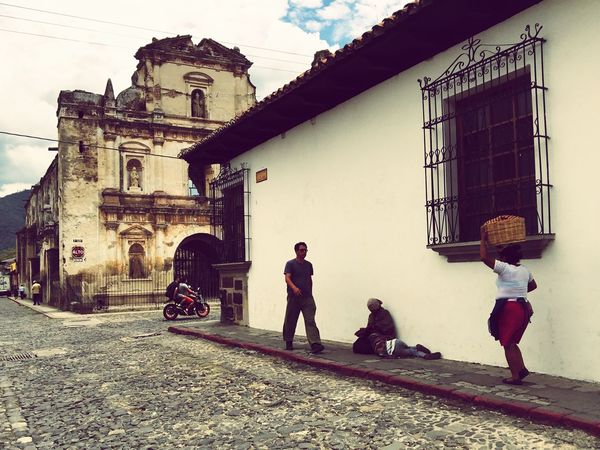 Latin America Central America Guatemala Antigua Antigua Guatemala Colonial Architecture Colonial Town Street Photography Church Chapel Mesoamerica The Street Photographer - 2017 EyeEm Awards The Week On EyeEm