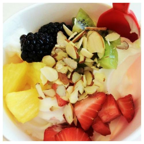 Frozen yogurt from Cherry On Top
