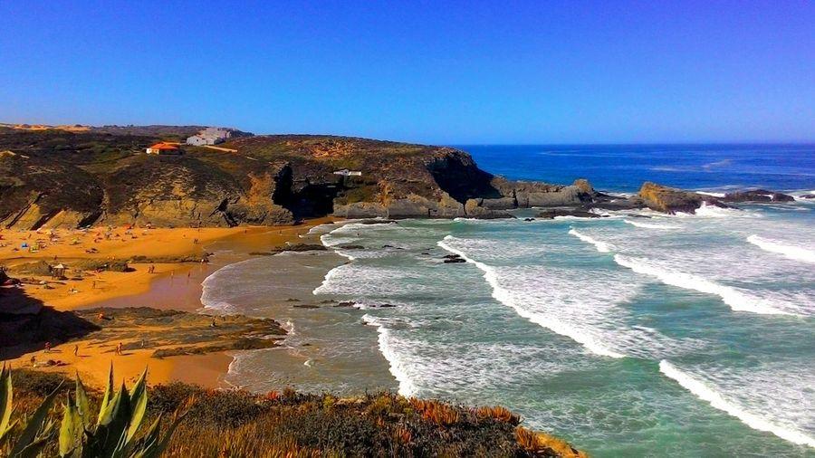 MyPics Lovelife Lovebeach LoveNature Beach Beachphotography Summer Summer Views Nature Narure_collection Alentejo Zambujeira Do Mar Portugal My World