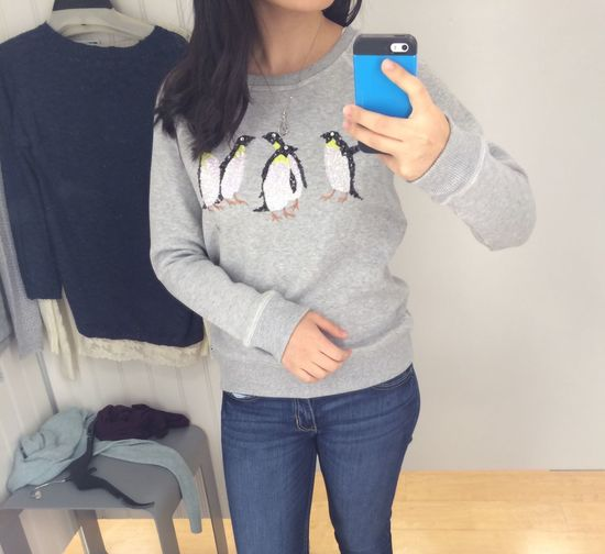 Penguin Sweater Sweater Weather Girl Clothes Shopping Pretty