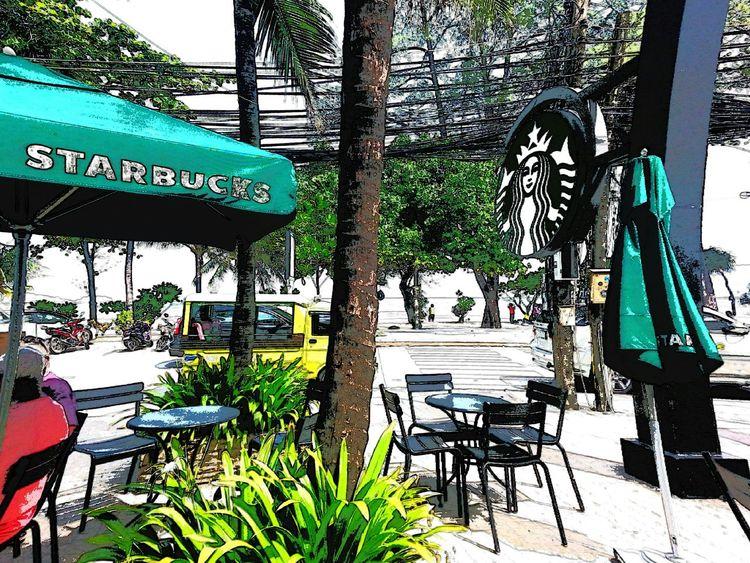 Mycoffee Starbucks Patongbeach Thailand