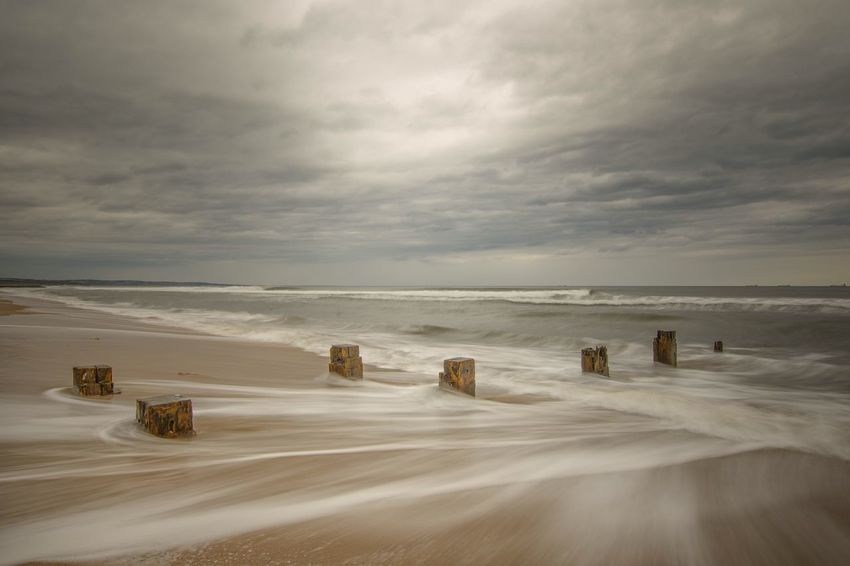 NiSi Filters Nisi Nikond7200 Beach Photography Nikon Sigma 10-20mm Steetly Amazing Sea And Sky Seascape Beachphotography Beach Long Exposure Nikonphotography Nikonphotographer Clouds And Sky Backwash Seascape Photography Steetly Pier Sea Seaside