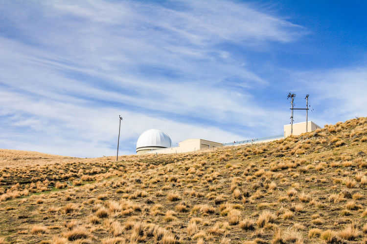 Observatory in Lake Tekapo Lake Tekapo Lake Tekapo, New Zealand Lake Tekapo Observatory Lake Tekapo New Zealand New Zealand Sky Built Structure Architecture Building Exterior Cloud - Sky Land Nature Day No People Environment Technology Landscape Tower Dome Field Desert Outdoors Fuel And Power Generation Connection Sunlight Global Communications Water Conservation Arid Climate