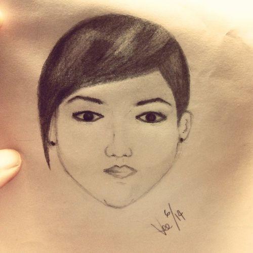 Selfportrait Sketch Sketches Pencilwork pencil doodle handdrawing drawing