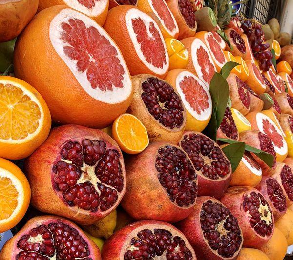 Food And Drink Food Healthy Eating Fruit Freshness Wellbeing Orange Color Large Group Of Objects Still Life No People Full Frame Choice Backgrounds SLICE Abundance For Sale Variation Citrus Fruit Orange - Fruit Close-up