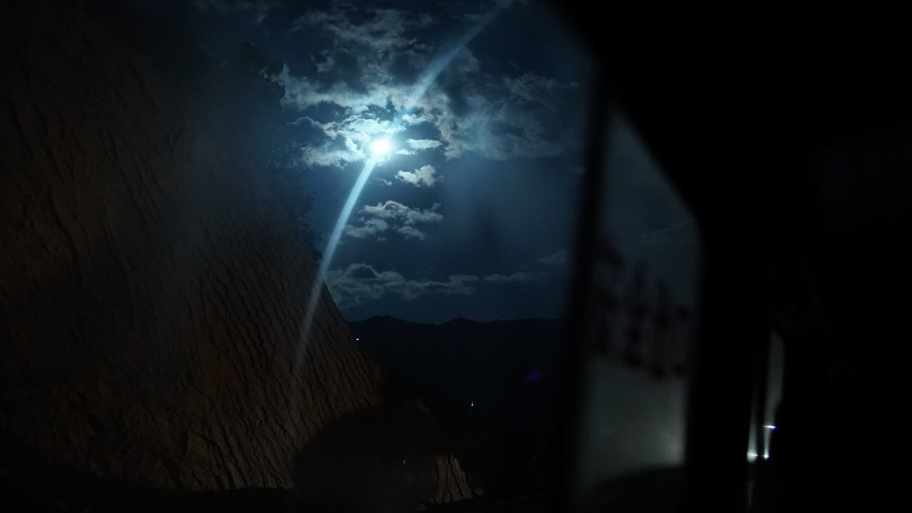 window, indoors, silhouette, night, no people, moon, sky, illuminated, nature, close-up, astronomy