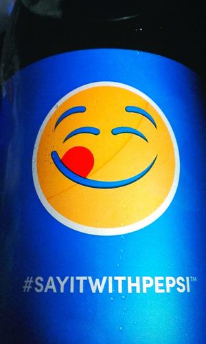 Say It With Pepsi Smiles Pepsi~Cola PEPSI COLLECTOR SERIES Say It With Pepsi 😀 Sayitwithpepsi ☺ Pepsi Emoji Pepsicola Smile Pepsi : Cola Pepsi Cola Pepsi-Cola Pepsi Logos Pepsi Stick Your Tongue Out Emoji Emoticons Emojis Emoticon Face Stick Out The Tongue Emojiporn Emoticonporn Smiley Face Pepsi Labels Smiley