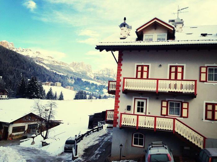 Snowy Italy