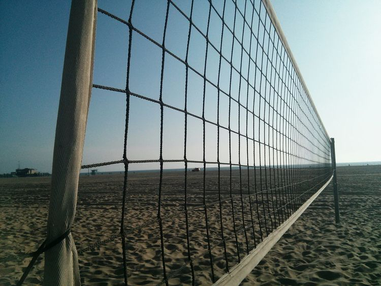Ocean Beach California Summer Relaxing Morning Santa Monica Volleyball Beach Volleyball Fine Art Photography Capture The Moment Twilight Summertime Landscapes With WhiteWall Enjoying Life