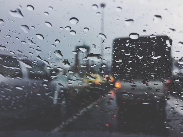 Drop Wet Window Transparent Water Glass - Material Rain Rainy Season Weather RainDrop Glass No People Water Drop Indoors  Droplet Close-up Car Day Land Vehicle Nature