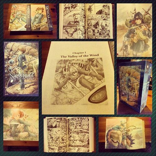 Wedding Anniversary gift to my gorgeous hubby :) @akibapanda Nausica ä Graphicnovel Manga Art specialedition ghibli studioghibli eco ecowarrior miyasaki iconic japanese fantasy adventure weddinganniversary anniversary gift