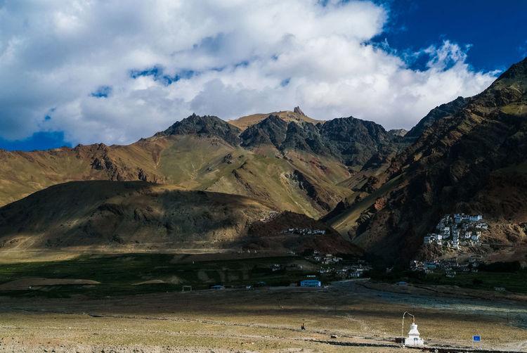 Karsha or Kursha Gompa in Zanskar valley Folk Gompa India Jammu And Kashmir Karsha Kursha Ladakh Landscape Leh Monastery Mountain Padum Travel Zanskar