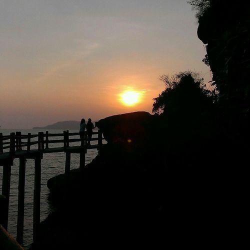 When the sun goes down Sun☀ Sun Set Nice Place Nice Views