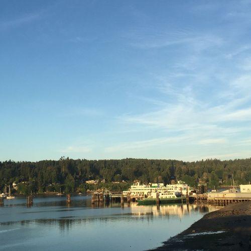 Bainbridge Island Bainbridge Island Ferry Ferry Ferry Passengers Seattle Seattle Skyline Seattle, Washington Sunrise Washington Ferry My Commute