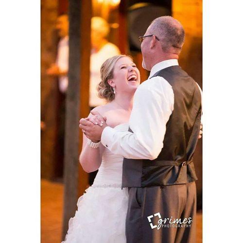 Nothing like the Father & Daughter Dance. :) Southernwedding Ncweddingphotographer Grimesphotography Ncbride sthrnbridemag wedding fatherdaughterdance priceless easternnc