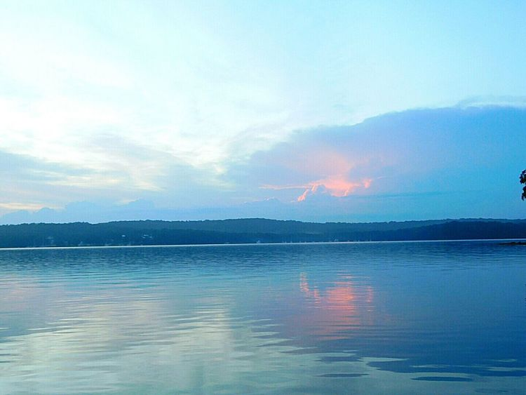 Hey Hey! How are you? ❤Bliss❤ From My Point Of View Water Reflections Cloud Reflections Lake Macquarie Femalephotographerofthemonth Nikonphotography Reflections In The Water Australian Landscape Landscape_Collection Australian Sunrise