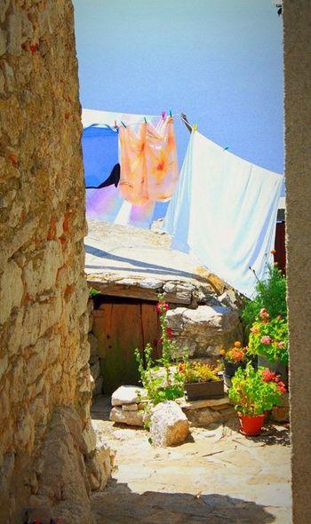 Croatia Clothes Fresh Air Sunny Day Beautiful